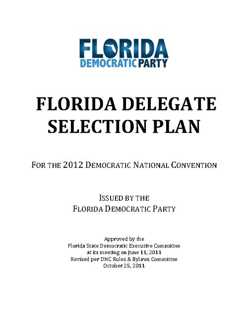 FL Delegate Plan