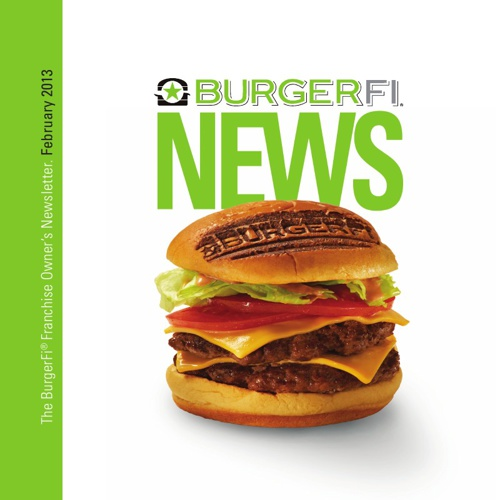 BurgerFi February 2013 Newsletter