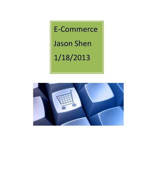 e-commerce - jason shen