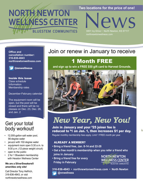 Winter 16-17 | North Newton Wellness Center News