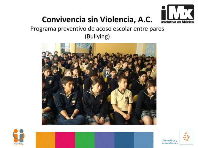 RF - Convivencia sin Violencia - Prevención de acoso escolar