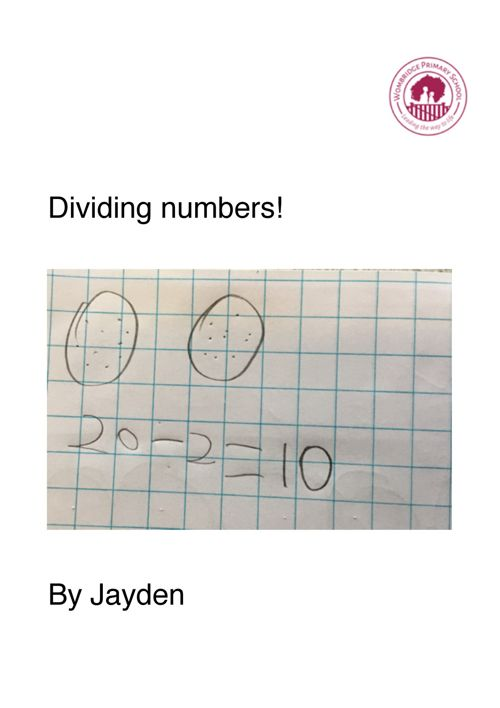 WK7 MATHS- Dividing numbers!