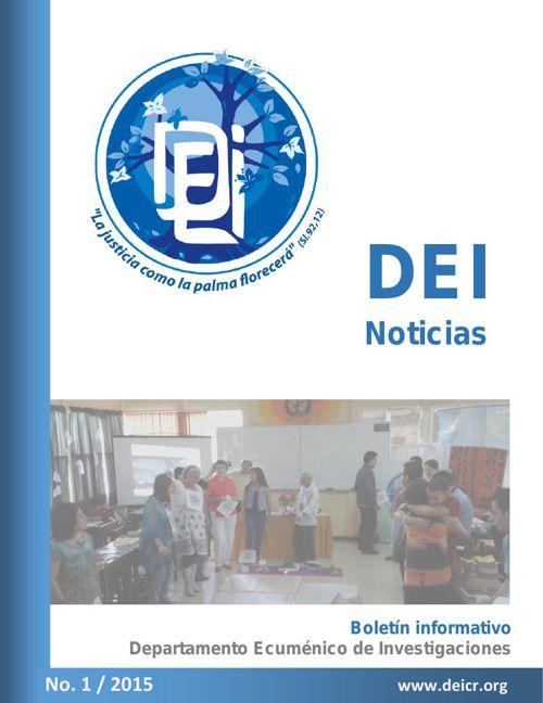 Boletin DEI noticias / I - 2015.