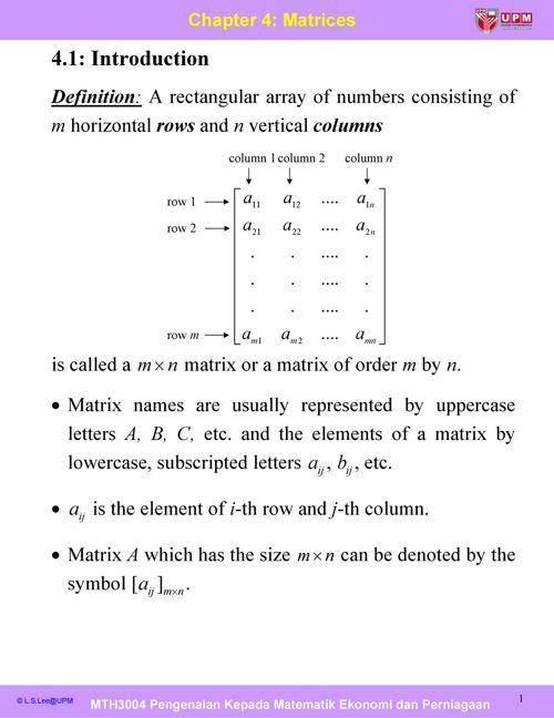 Cp4_Matrices