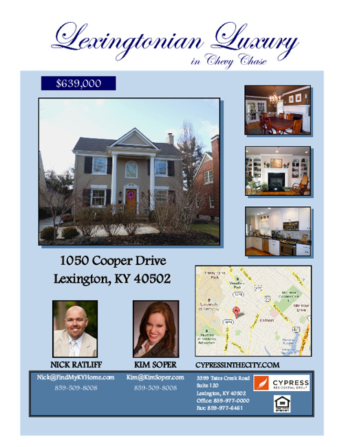 1050 Cooper Drive - Brochure