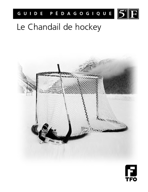 Le Chandail de Hockey Guide Pédagogique