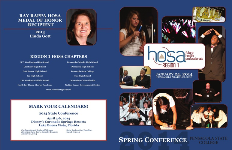 Region 1 HOSA Booklet