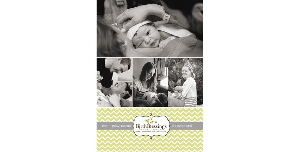 Birth Blessings Photography Studio Album 10x10, 15 spreads