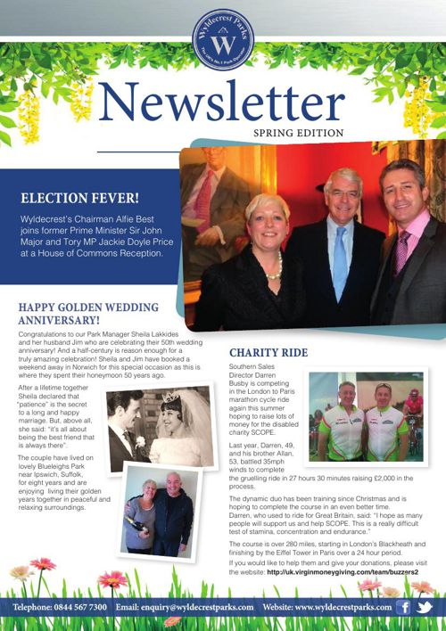 Wyldecrest Newsletter Spring Edition