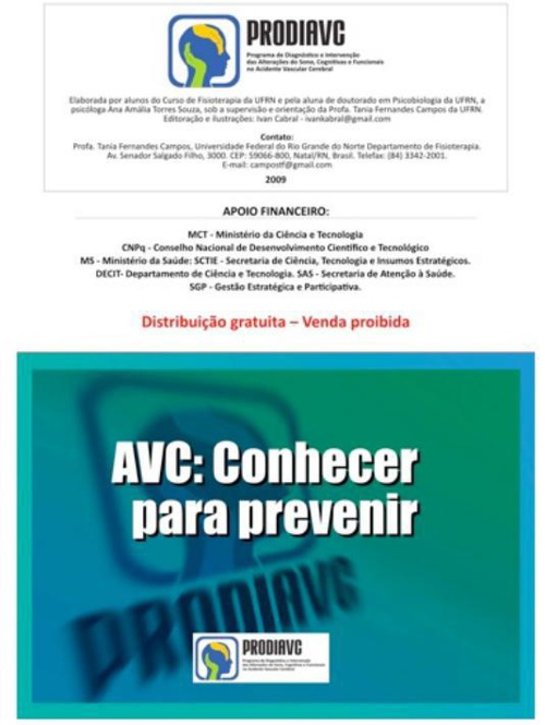 Cartilha AVC UFRN