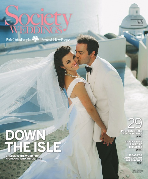 Special Section: Society Weddings