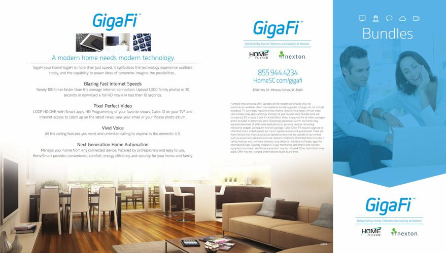 GigaFi Bundles press