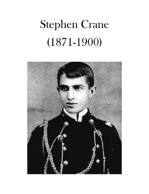 Author Presentation-Stephen Crane