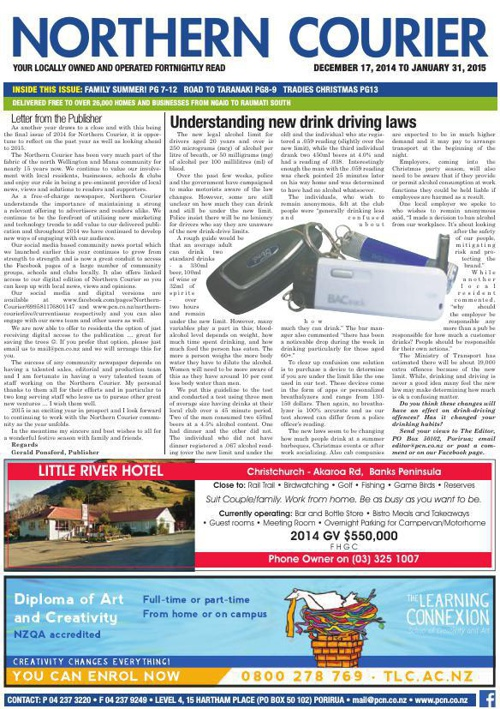 Northern Courier 17 December 2014