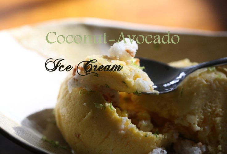 Coconut-Avocado Ice Cream