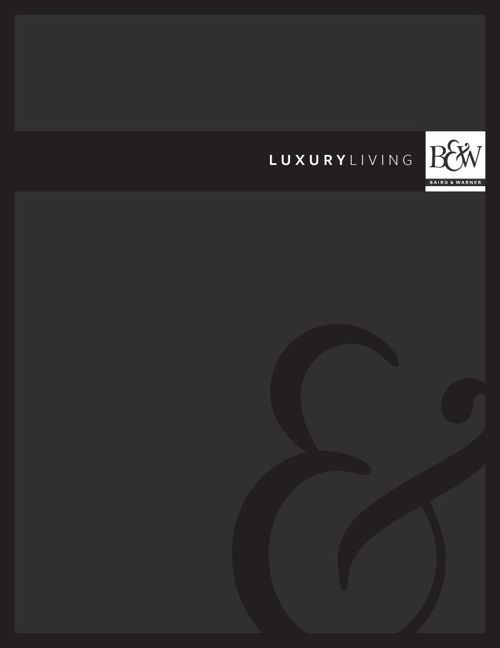 Luxury Program Book