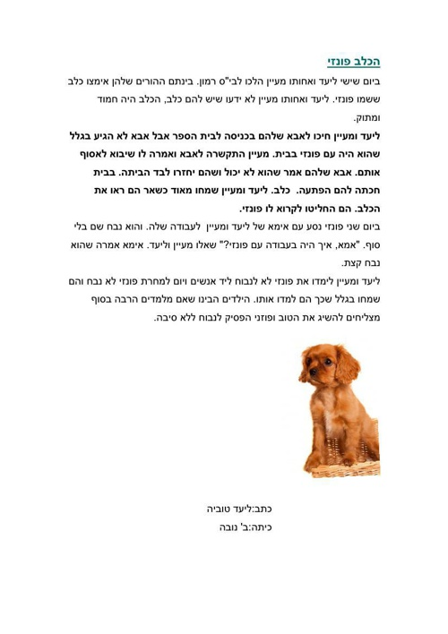 סיפורים על כלבים