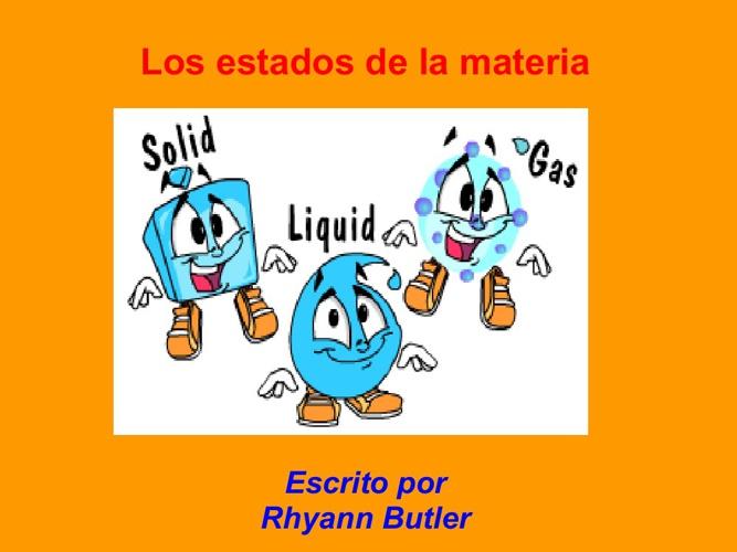 Rhyann Estados de la materia