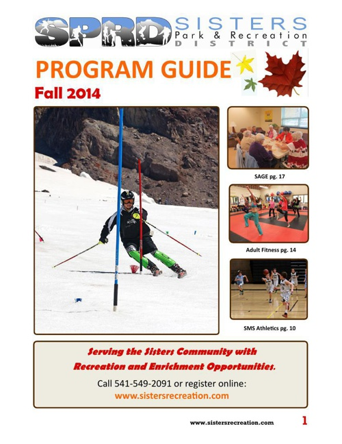 Fall 2014 Program Guilde + Pickleball