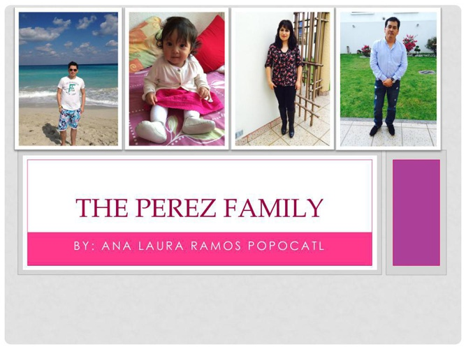 The rodriguez family4