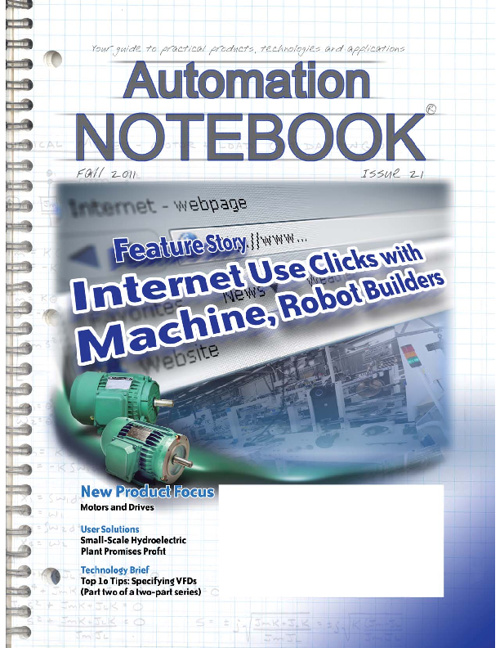 AutomationNotebook Issue 21