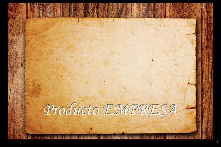 PRODUCTO empresa Catálogo VIRTUAL 2012