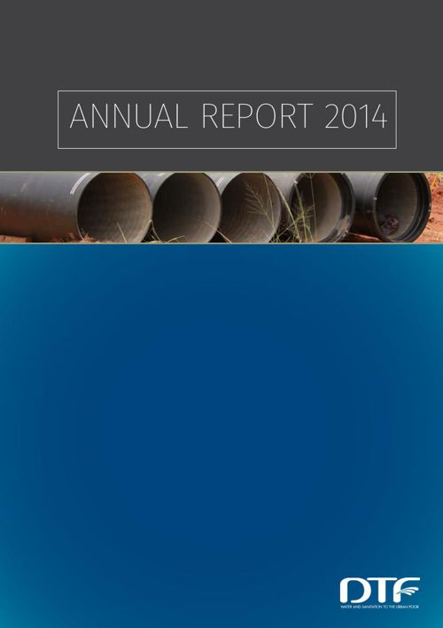 DTF Annual Report 2014 Preview