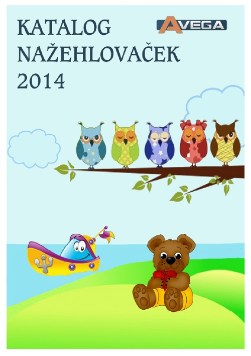 Avega - katalog nažehlovaček 2014