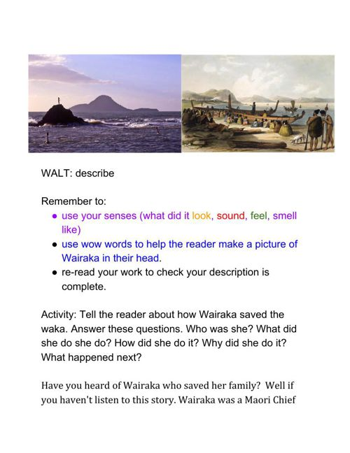 Wairaka-describe