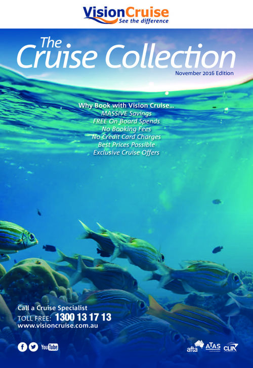 Vision Cruise AU Brochure Releases