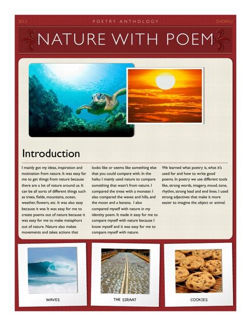 la poetry terminology