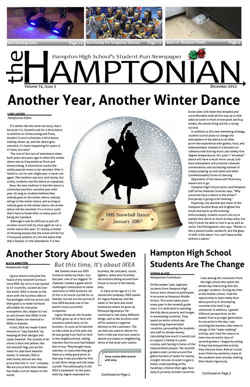 December Hamptonian 2015_web