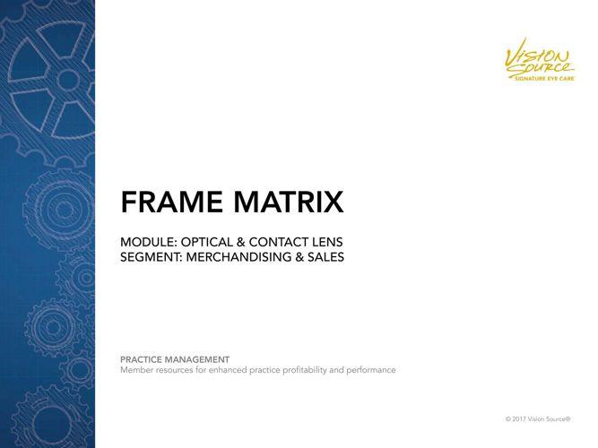 Frame-Matrix