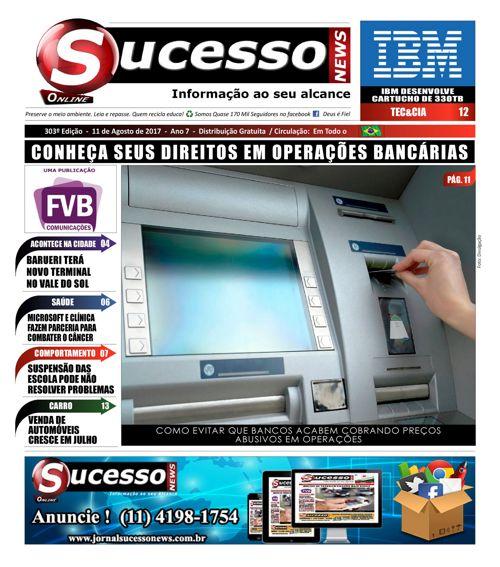 Jornal Sucesso News - Edição - 303 ONLINE