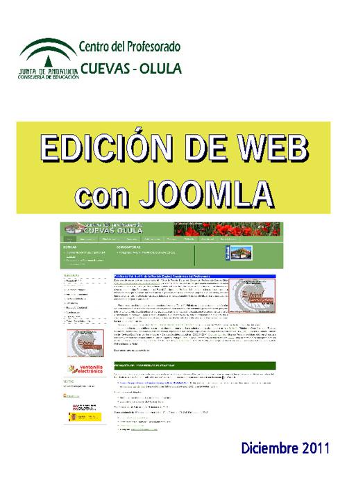 Tutorial Edición JoomlaCepCuevasOlula