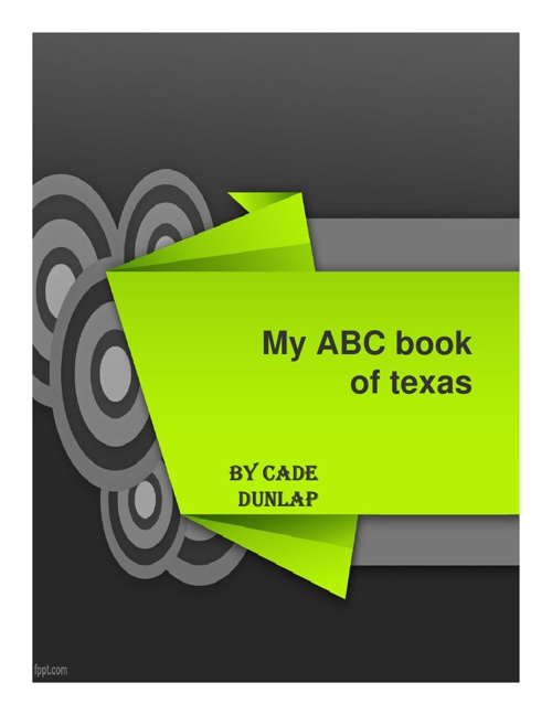 Cade D ABC Book