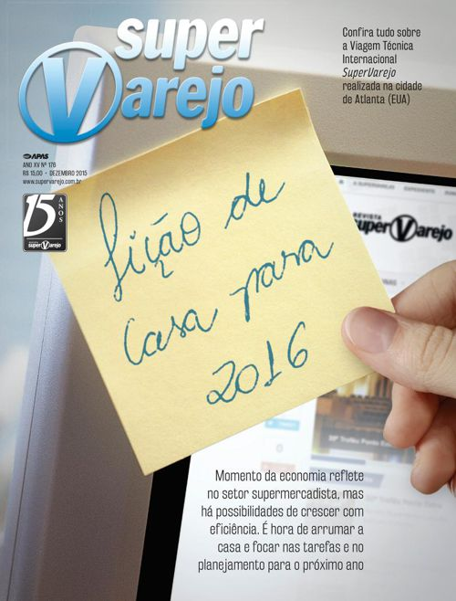 Revista SuperVarejo Dezembro de 2015 nº176