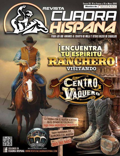 REVISTA CUADRA HISPANA Edición #23