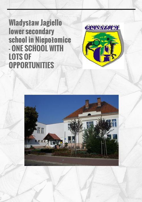 Wladyslaw Jagiello Lower Secondary School