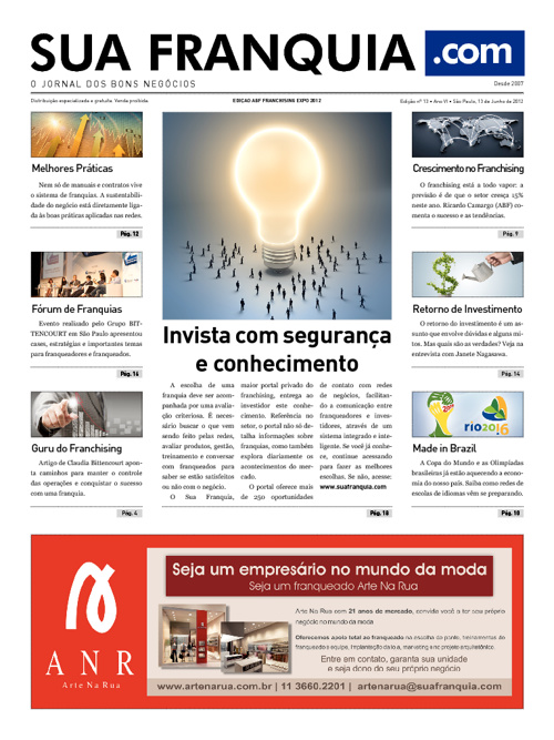 Jornal Sua Franquia