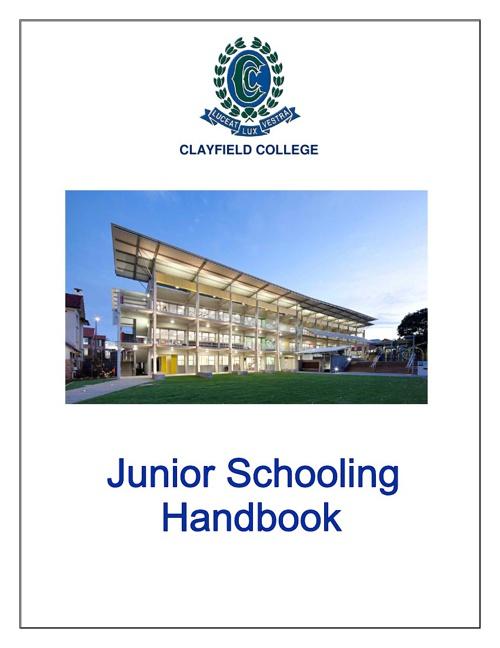 Junior Handbook