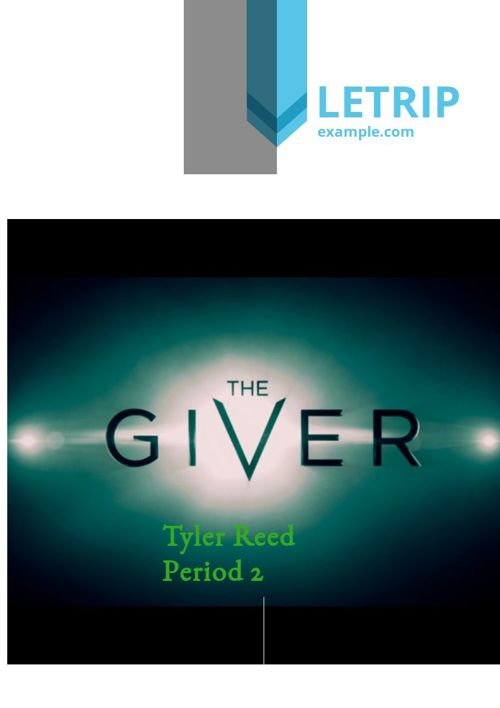 THe giver tyler