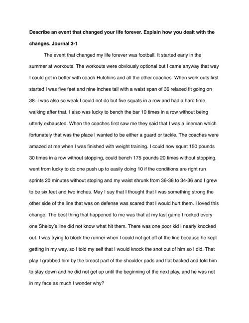 Journal 3-1 - 3-4