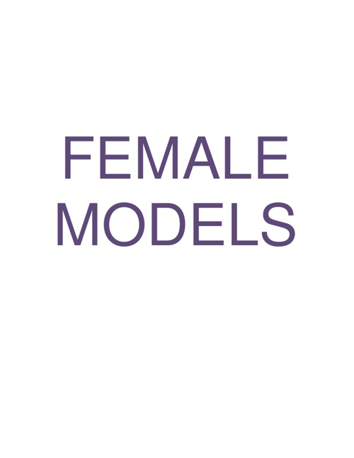 Female Models Updated