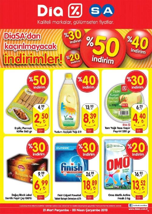 Diasa Kampanya Broşürü 21 Mart - 3 Nisan 2013