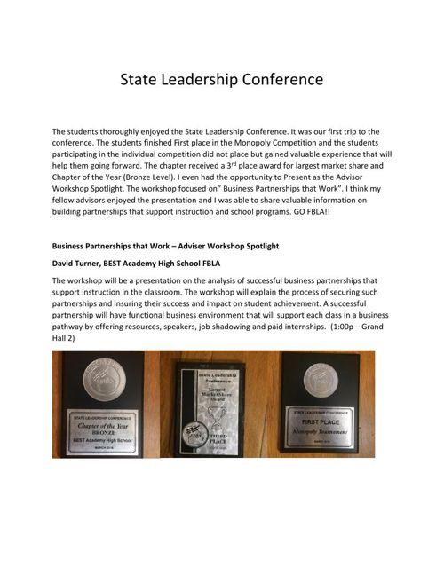 State Leadership 2