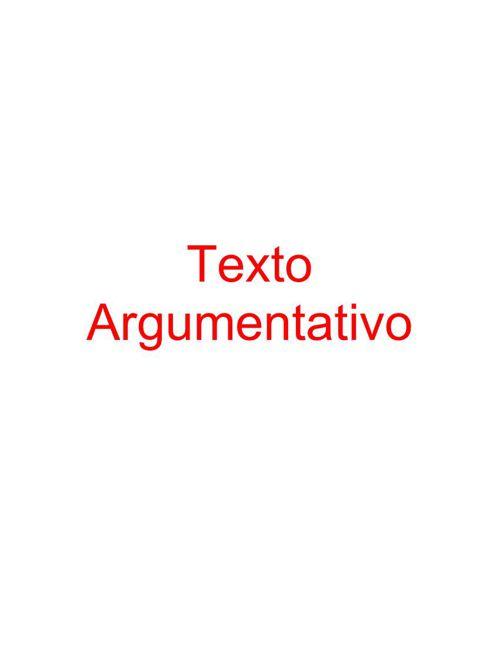 Texto Argumentativo 2 pdf bueno