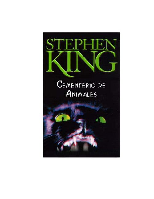 King, Stephen - Cementerio de animales
