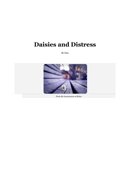 Daisies and Distress