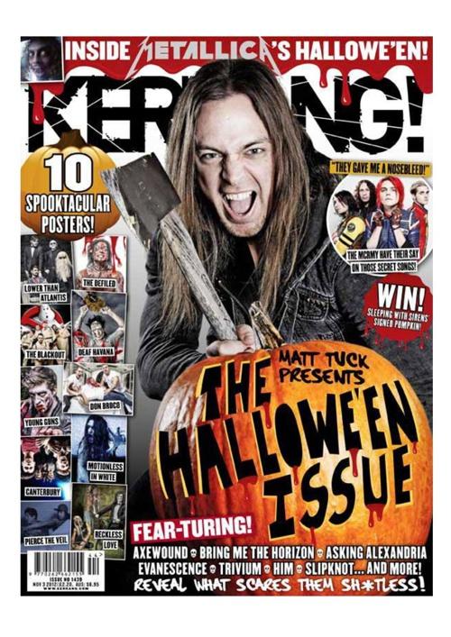Kerrang Textual Analysis